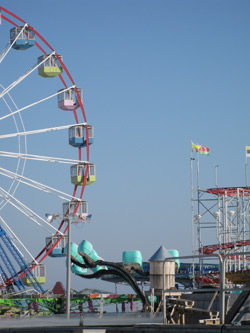 Rides on the Funtown Pier, Seaside Heights, NJ
