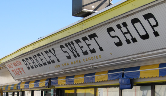 the Berkley Sweet Shop in Seaside Heights, NJ