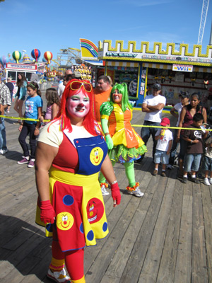 Clownfest, 2009, Seaside Heights New Jersey
